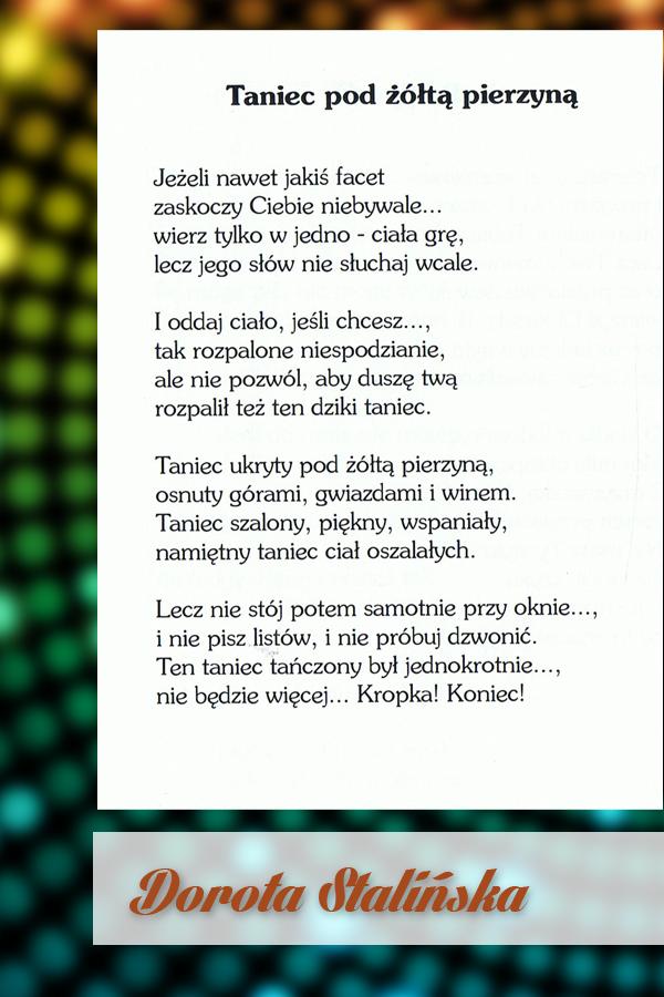 Wiersze Walca Czar Anna Z